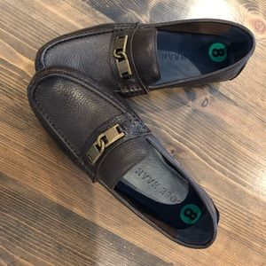 Cole Haan leather driving shoe loafers never worn